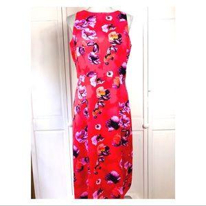 BANANA REPUBLIC FLORAL LONG DRESS